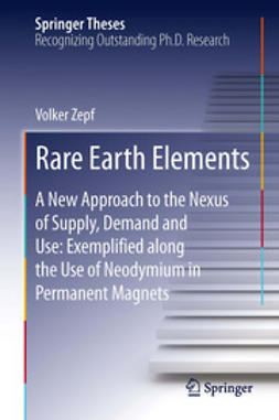 Zepf, Volker - Rare Earth Elements, ebook