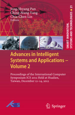 Pan, Jeng-Shyang - Advances in Intelligent Systems and Applications - Volume 2, ebook