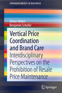 Ahlert, Dieter - Vertical Price Coordination and Brand Care, ebook