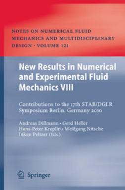 Dillmann, Andreas - New Results in Numerical and Experimental Fluid Mechanics VIII, e-kirja