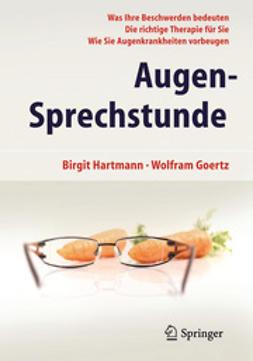 Hartmann, Birgit - Augen-Sprechstunde, ebook