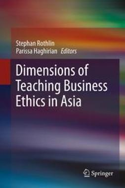 Rothlin, Stephan - Dimensions of Teaching Business Ethics in Asia, ebook