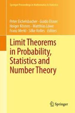 Eichelsbacher, Peter - Limit Theorems in Probability, Statistics and Number Theory, ebook