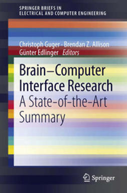 Guger, Christoph - Brain-Computer Interface Research, e-bok