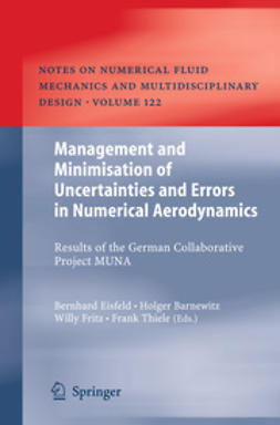 Eisfeld, Bernhard - Management and Minimisation of Uncertainties and Errors in Numerical Aerodynamics, ebook