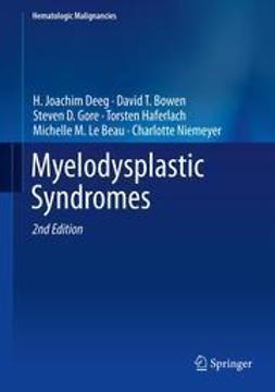 Deeg, H. Joachim - Myelodysplastic  Syndromes, ebook