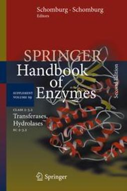 Schomburg, Dietmar - Class 2–3.2 Transferases, Hydrolases, ebook