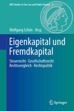 Schön, Wolfgang - Eigenkapital und Fremdkapital, ebook