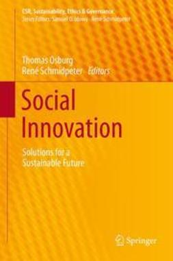 Osburg, Thomas - Social Innovation, ebook