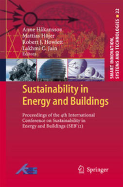 Hakansson, Anne - Sustainability in Energy and Buildings, e-bok