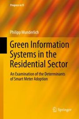 Wunderlich, Philipp - Green Information Systems in the Residential Sector, ebook