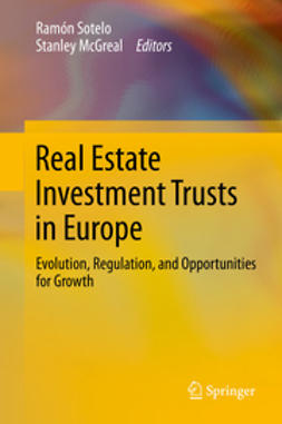 Sotelo, Ramón - Real Estate Investment Trusts in Europe, ebook