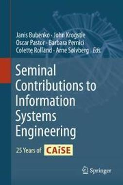 Bubenko, Janis - Seminal Contributions to Information Systems Engineering, ebook