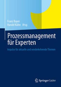 Bayer, Franz - Prozessmanagement für Experten, ebook
