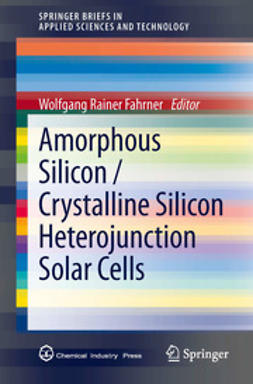 Fahrner, Wolfgang Rainer - Amorphous Silicon / Crystalline Silicon Heterojunction Solar Cells, ebook