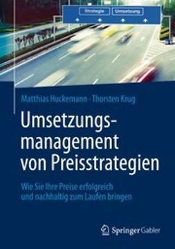 Huckemann, Matthias - Umsetzungsmanagement von Preisstrategien, ebook