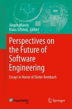 Münch, Jürgen - Perspectives on the Future of Software Engineering, ebook