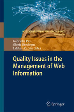 Pasi, Gabriella - Quality Issues in the Management of Web Information, ebook