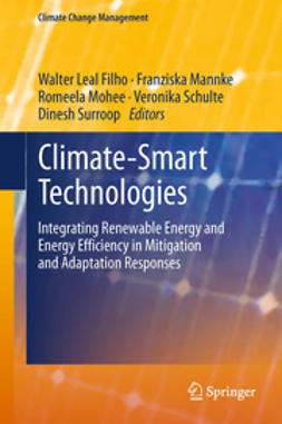 Filho, Walter Leal - Climate-Smart Technologies, ebook