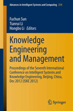 Sun, Fuchun - Knowledge Engineering and Management, ebook