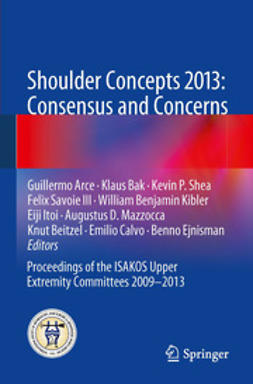 Arce, Guillermo - Shoulder Concepts 2013: Consensus and Concerns, ebook