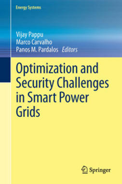 Pappu, Vijay - Optimization and Security Challenges in Smart Power Grids, ebook