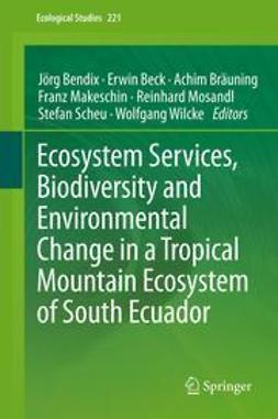 Bendix, Jörg - Ecosystem Services, Biodiversity and Environmental Change in a Tropical Mountain Ecosystem of South Ecuador, e-bok