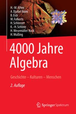 Alten, H.-W. - 4000 Jahre Algebra, ebook