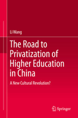Wang, Li - The Road to Privatization of Higher Education in China, ebook