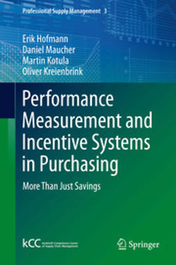 Hofmann, Erik - Performance Measurement and Incentive Systems in Purchasing, ebook