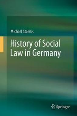 Stolleis, Michael - History of Social Law in Germany, e-bok