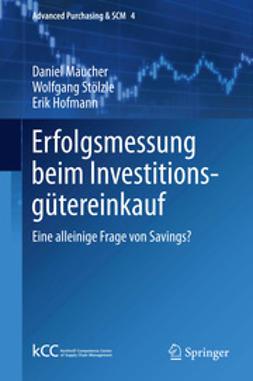 Maucher, Daniel - Erfolgsmessung beim Investitionsgütereinkauf, ebook