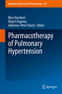 Humbert, Marc - Pharmacotherapy of Pulmonary Hypertension, ebook