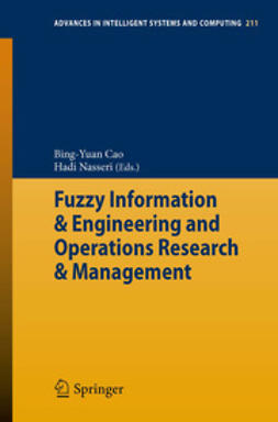 Cao, Bing-Yuan - Fuzzy Information & Engineering and Operations Research & Management, e-kirja