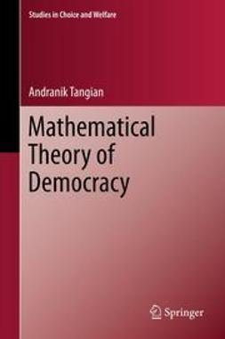 Andranik, Tangian - Mathematical Theory of Democracy, ebook