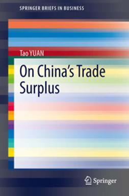 YUAN, Tao - On China's Trade Surplus, ebook
