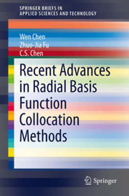 Chen, Wen - Recent Advances in Radial Basis Function Collocation Methods, ebook