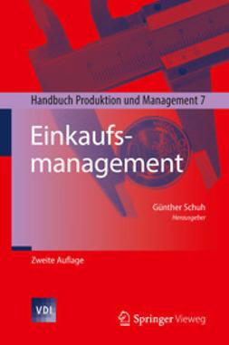 Schuh, Günther - Einkaufsmanagement, ebook