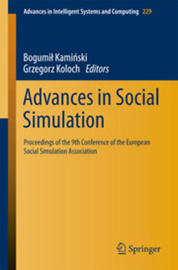 Kamiński, Bogumił - Advances in Social Simulation, ebook