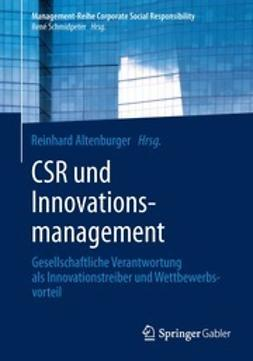 Altenburger, Reinhard - CSR und Innovationsmanagement, e-kirja