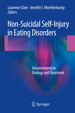 Claes, Laurence - Non-Suicidal Self-Injury in Eating Disorders, ebook