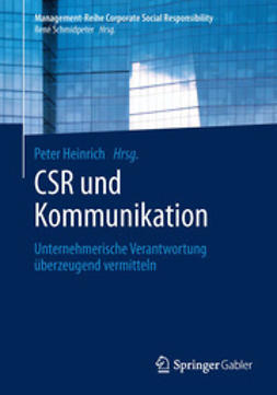 Heinrich, Peter - CSR und Kommunikation, ebook