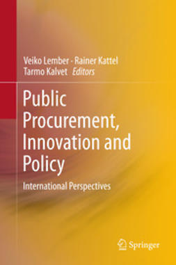 Lember, Veiko - Public Procurement, Innovation and Policy, ebook