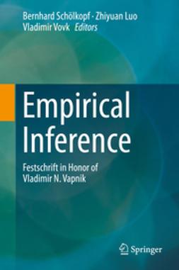 Schölkopf, Bernhard - Empirical Inference, e-bok