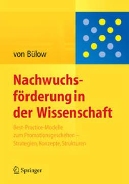 Bülow, Isolde - Nachwuchsförderung in der Wissenschaft, ebook