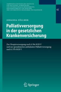 Föllmer, Johanna - Palliativversorgung in der gesetzlichen Krankenversicherung, ebook