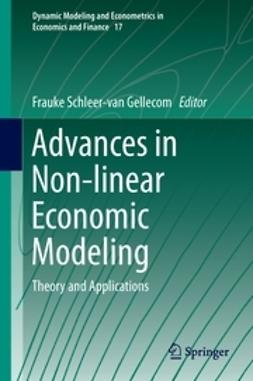 Gellecom, Frauke Schleer-van - Advances in Non-linear Economic Modeling, ebook
