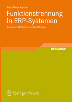 Asprion, Petra Maria - Funktionstrennung in ERP-Systemen, ebook