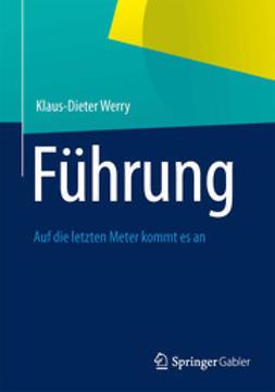 Werry, Klaus-Dieter - Führung, ebook