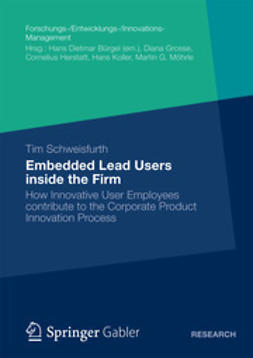 Schweisfurth, Tim - Embedded Lead Users inside the Firm, ebook